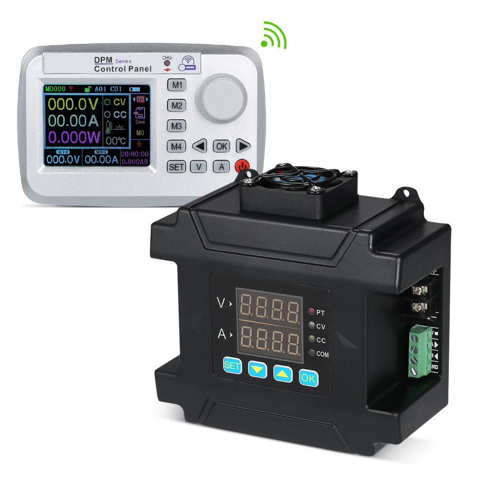 8A 60V DC Power Supply With Wireless Controller TFT LCD Screen Switching Power Supply 480w Programmable Power Source