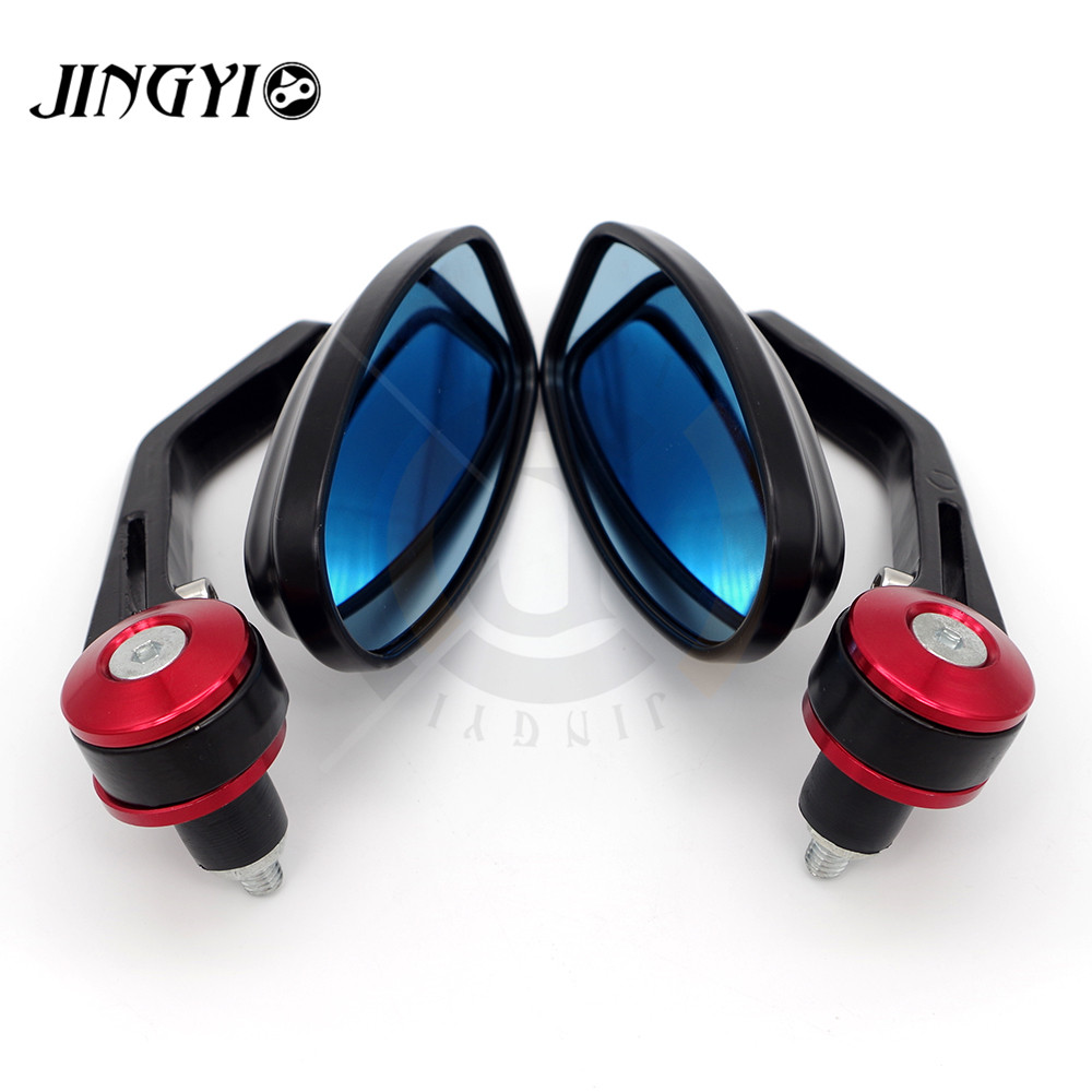 Motorcycle Accessories rearview mirrors bar End mirror retroviseur moto guidon FOR DUCATI Street Fighter 696 796 796 848 Monster aftermarket free shipping motorcycle accessories retroviseur moto diamond shape rearview mirrors for suzuki bike chromed