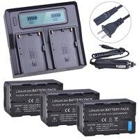 3x2200 mAh BP-U30 bp-u30 BP U30 bpu30 배터리 + LCD 소니 PMW-100  PMW-150  PMW-200  PMW-300  PMW-300K1