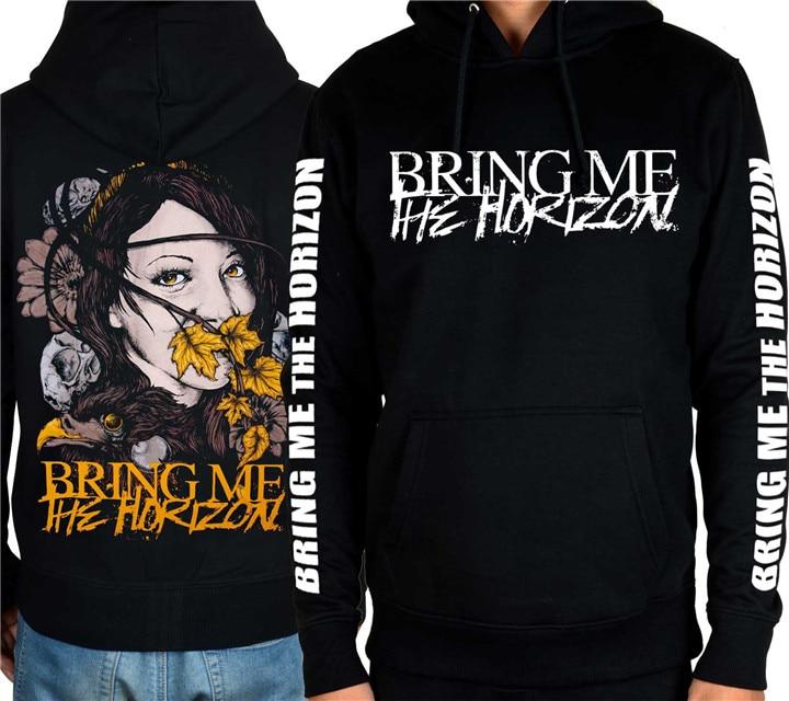 9 ontwerpen brengen mij de horizon rock heavy metal rits & pollover hoodies shell jas merk punk bmth sweatshirt sudadera-in Hoodies en sweaters van Mannenkleding op  Groep 2
