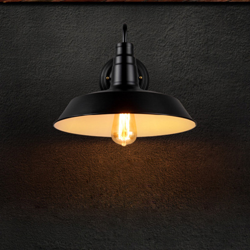 Modern Vintage Loft Adjustable Industrial Wind Metal Wall Light Retro E27 brass Wall lamp Country style Sconce Lamp Fixtures