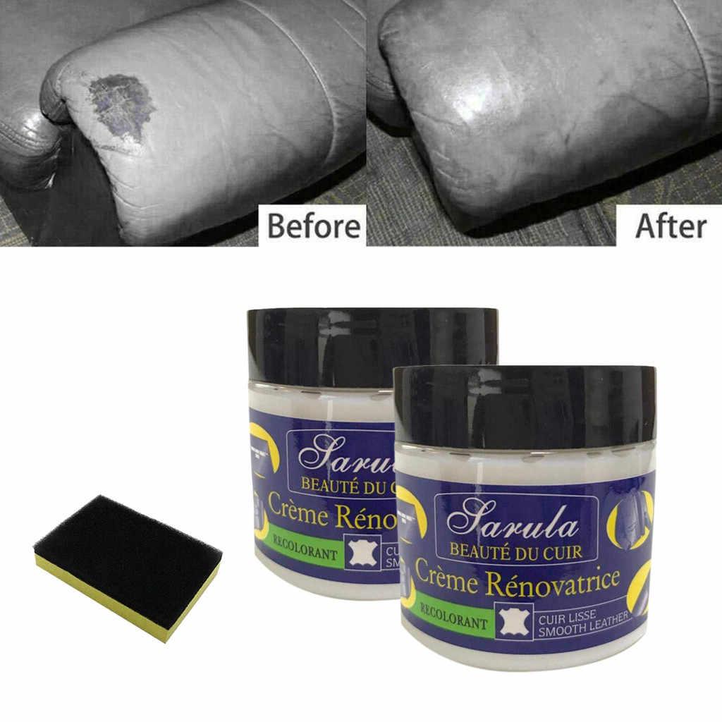 Leder Vinyl Reparatie Kit Auto Car Seat Sofa Jassen Holes Scratch Scheuren Rips Vloeibare Leer Reparatie Tool Restauratie Auto Lederen