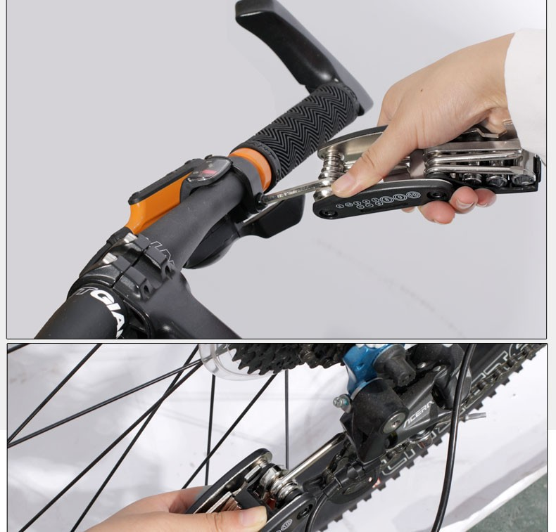 Ferramentas p/ reparo de bicicletas
