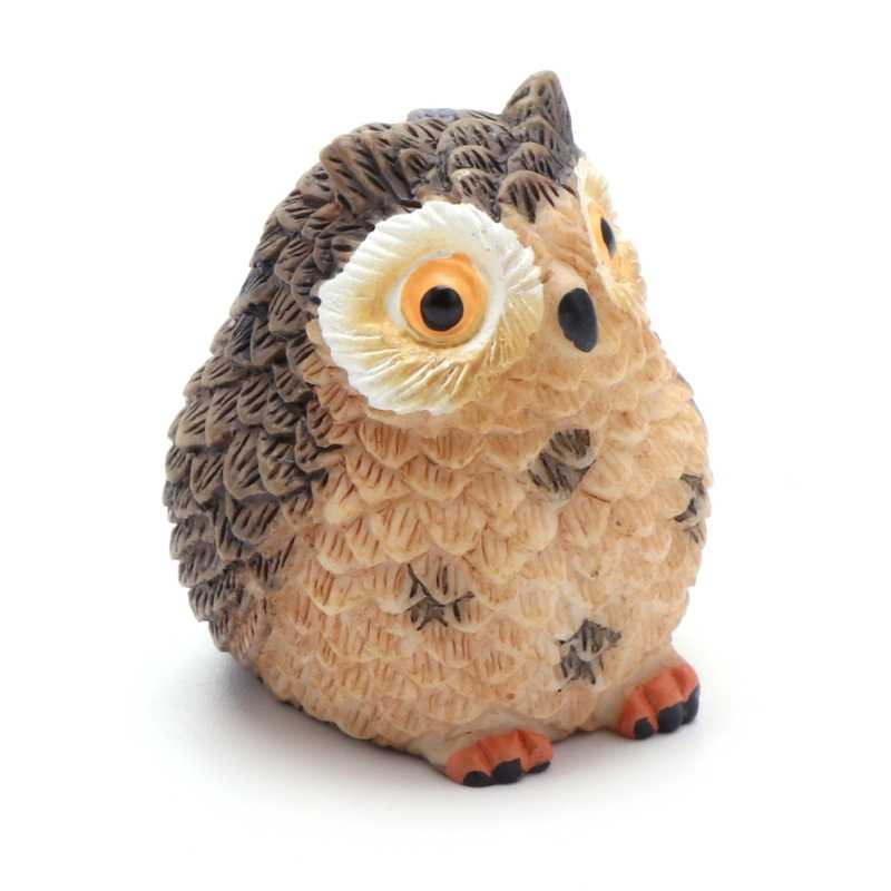 Cute Owl Mini Dollhouse Bonsai Craft Garden Ornament DIY Plant Pots Fairy Garden AP16