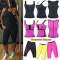 Trainer Cintura Vest Workout Neoprene Sauna quente Shaperwear Ajustável Cinto de Suor ou super stretch super mulheres Calças Controle shaper