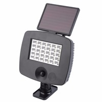 30 LED 6W IP44 Solar LED Light Outdoor Wall Garden Emergency Lamp Super Deal Inventory Clearance