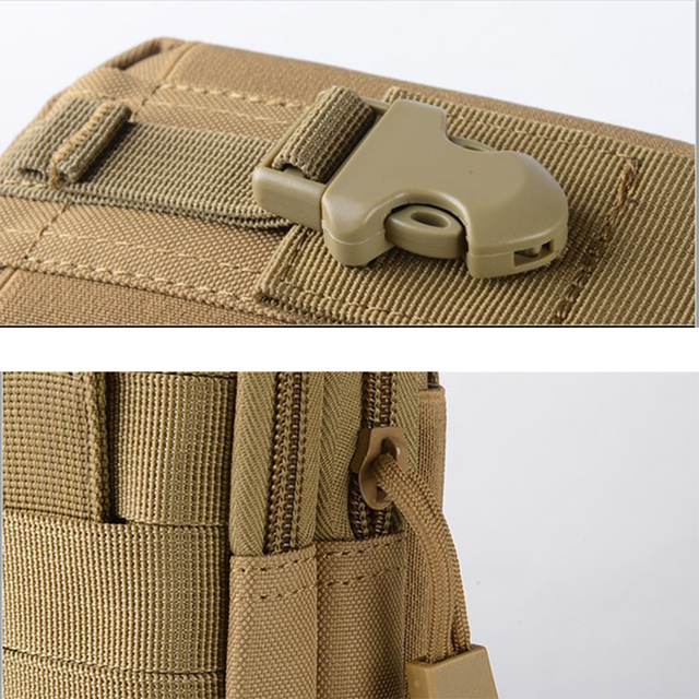 2018 Men Waist Bag Travel Bag Bum Bag Pouch Waterproof Military Belt Waist Packs Molle Nylon Mobile Phone Wallet Drop shiping 3