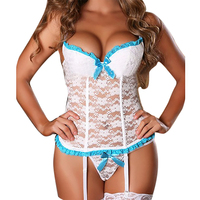 Hot Seller Sexy Lingerie Women Top Underwear Hot Sexy Erotic Lingerie Lace Sleepwear Erotic Sleepwear M