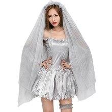 Großhandel halloween bride veil Gallery Billig kaufen