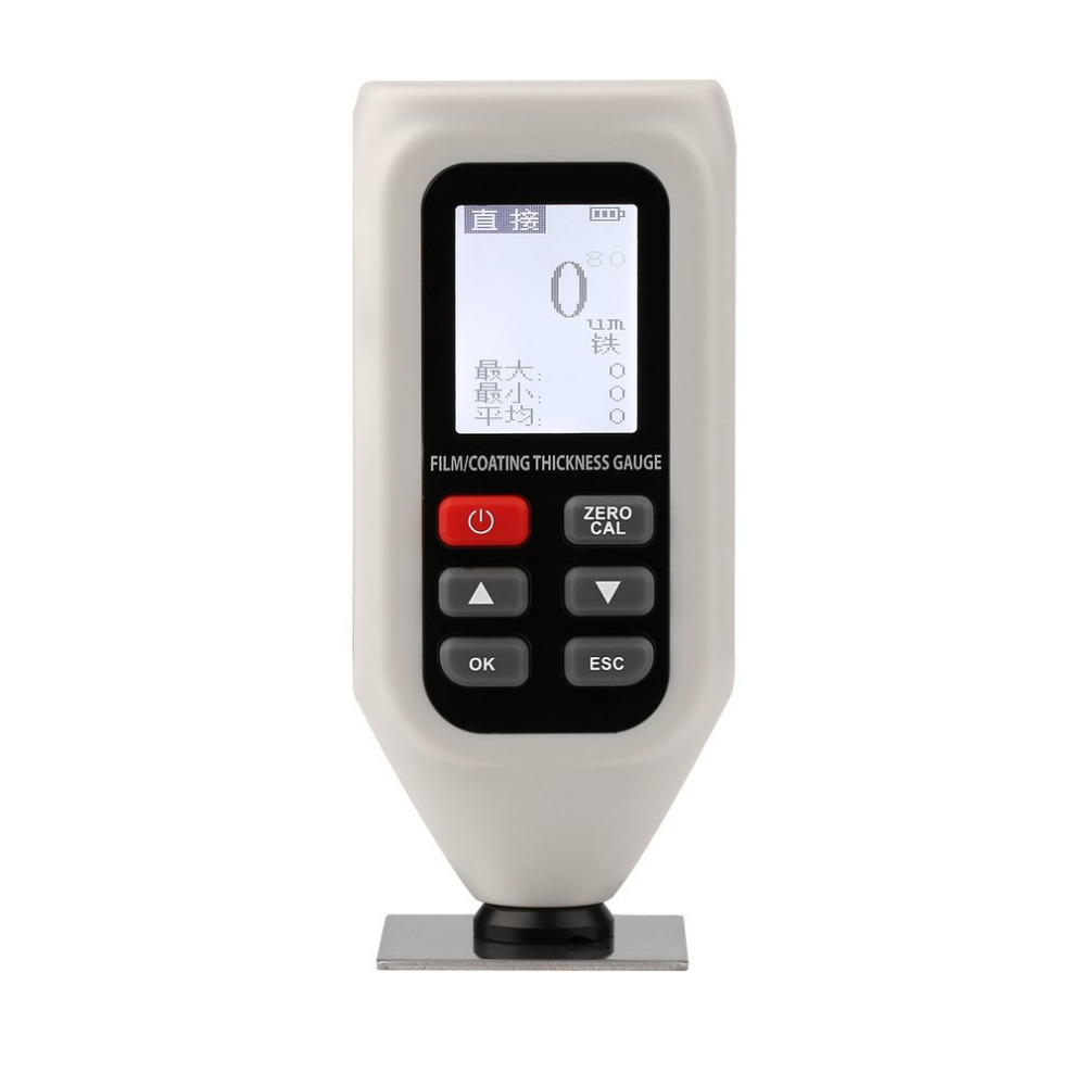 High Accuracy Thickness Gauge for Coating And Clad Layer With Digital LCD Display Portable Professional Instrument HT-128