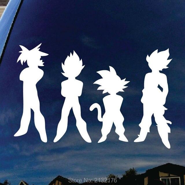 Dragon ball z dbz die cutting car stickers for audi bmw mercedes vw car window bumper