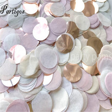 Confetti Rose-Gold Birthday-Party Wedding White Deco Baby Shower Toss Purple 30g 1pack