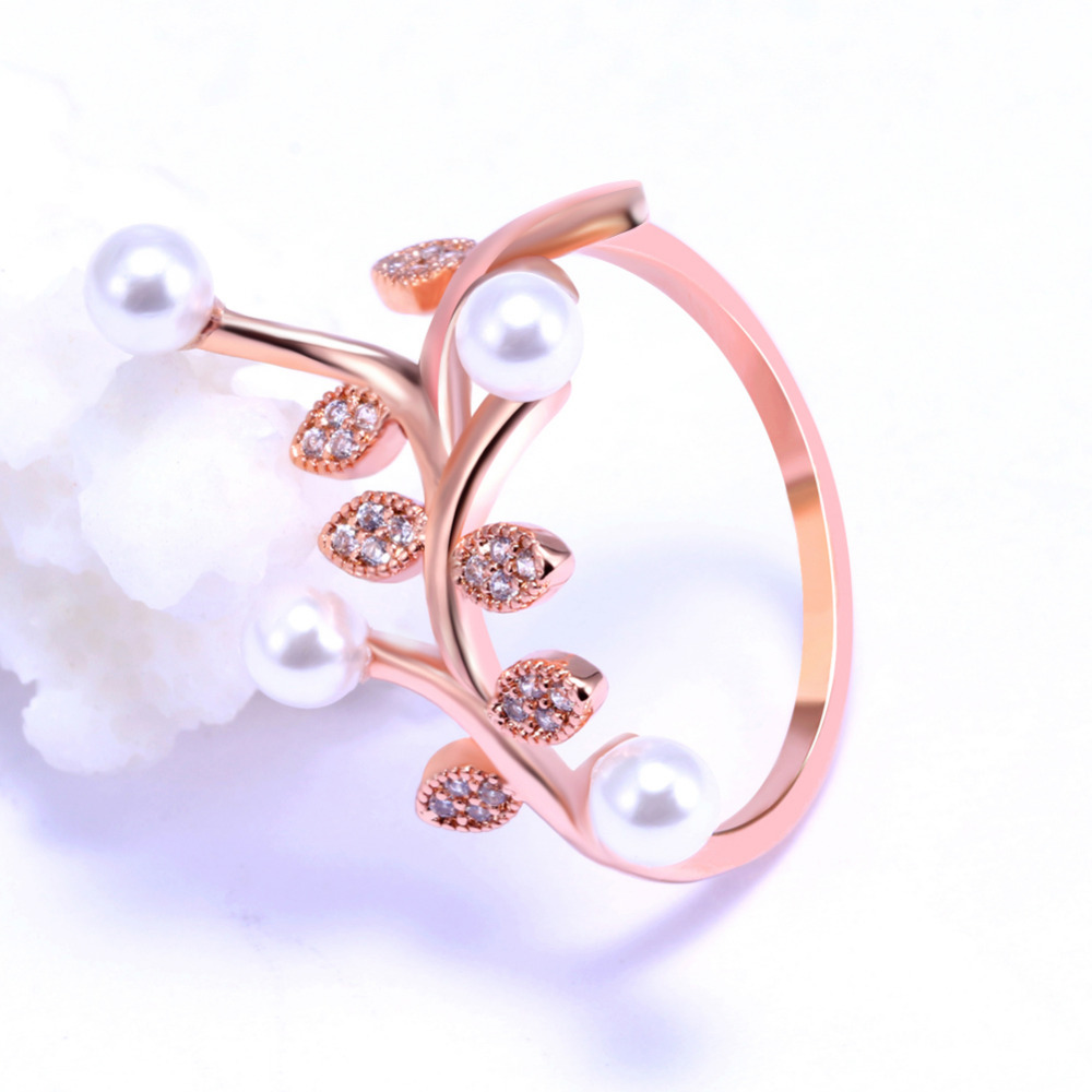 Fashion Hot Sale Wedding Jewelry Silver Gold Color Leaves Crystal ...