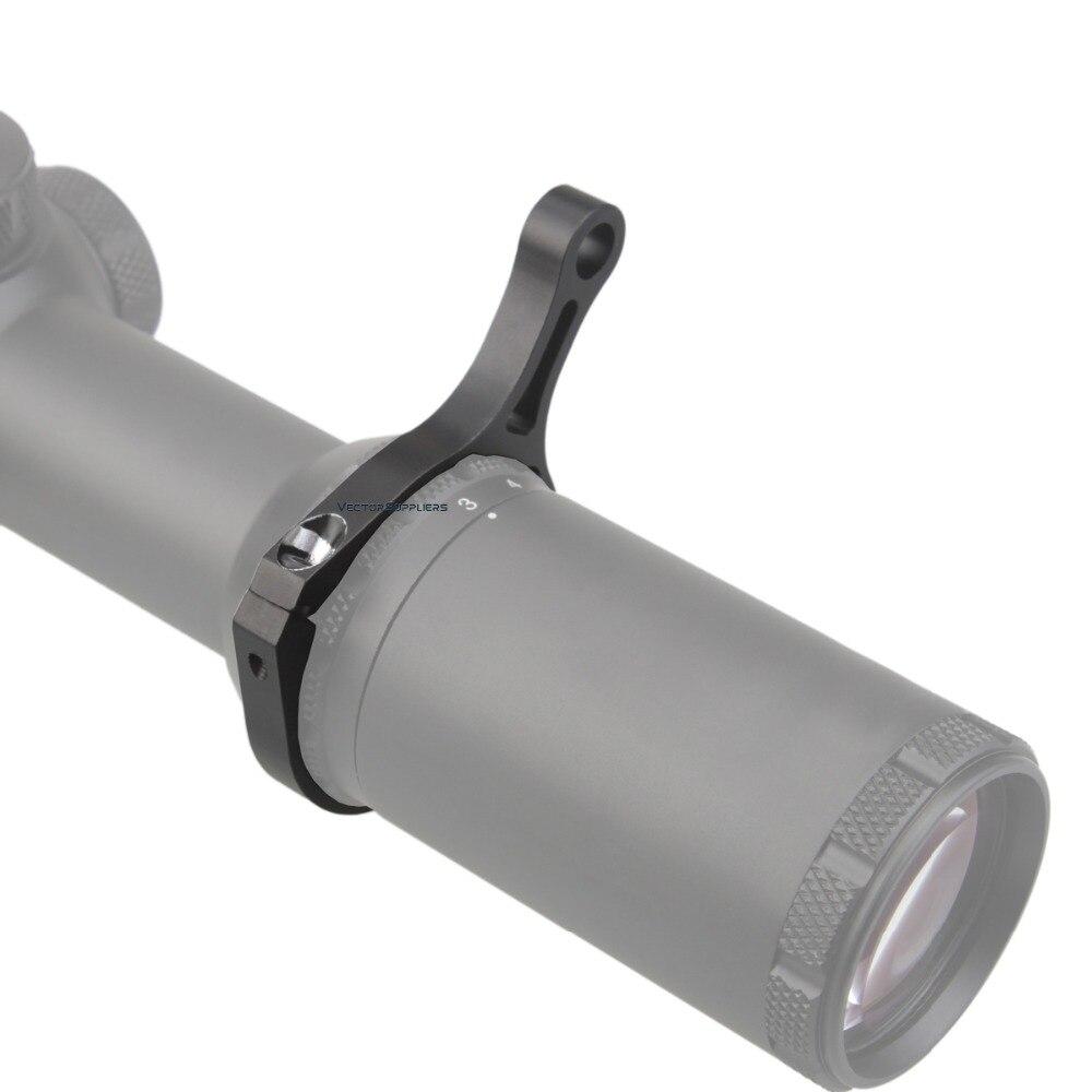 Vector Optik Riflescope Melemparkan Tuas Kekuatan Cincin Cocok untuk 44 Mm Diameter Ruang Lingkup Pembesaran
