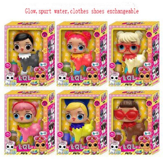 LOL Куклы будет брызг воды есть фруктовый вкус можно световой фигурку Бесплатная доставка Веселые Дети Игрушечные лошадки подарок
