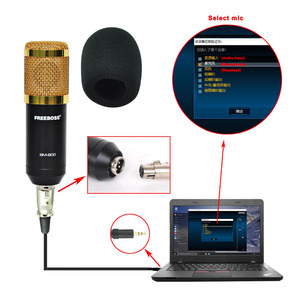 Image 3 - BM 800 KIT Wired Condenser Sound Microphone with Stand+Metal Shock Mount+Windscreen for PC Recording/Chorus/Broadcasting