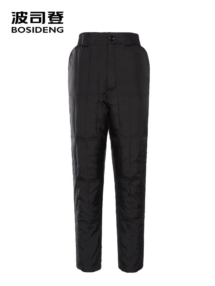 BOSIDENG women s down pants 90 down pant for women plus size home underwear pant high