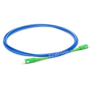 Image 2 - 10 m SC LC APC UPC PC Gepanzerte Patch Kabel patchkabel, jumper Simplex Single mode PVC