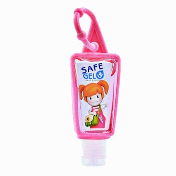 30ML Random Color Reusable Mini Hand Sanitizer Fruit Scented Disposable No Clean Travel Portable Clean Moisturizing Safe Gel