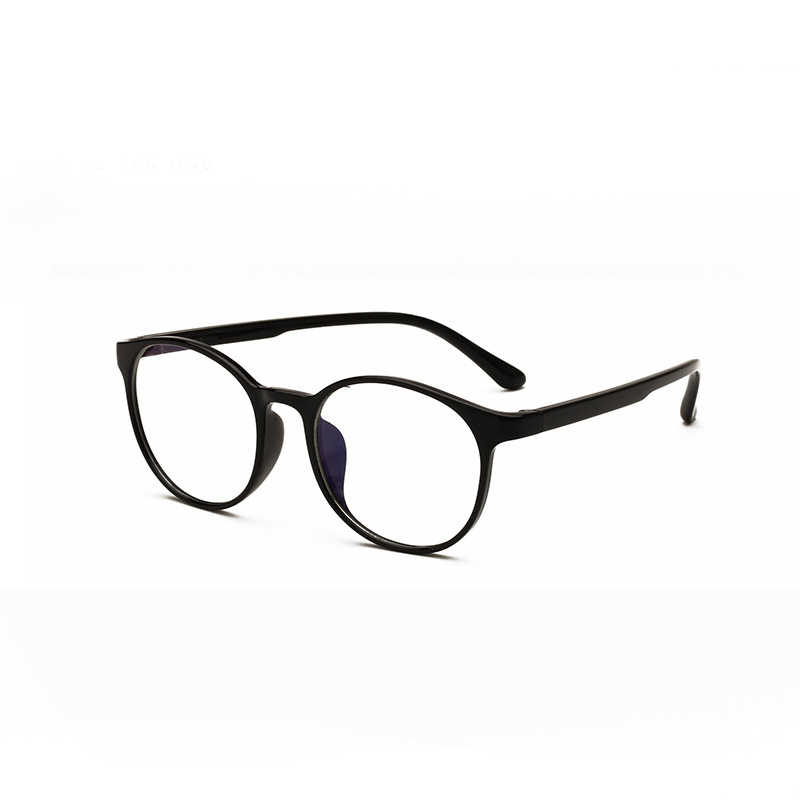 494bb2f6f8 ... Fashion 2018 Eyewear Glasses TR90 Plastic Round Frame For Female Men  Oculos de sol Prescription Goggles ...
