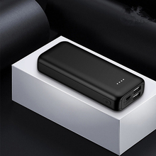 цена на 10000mAh Mini Power Bank External Battery Portable Charger Dual USB 2A Fast Charging Powerbank For Xiaomi iphone Samsung Huawei
