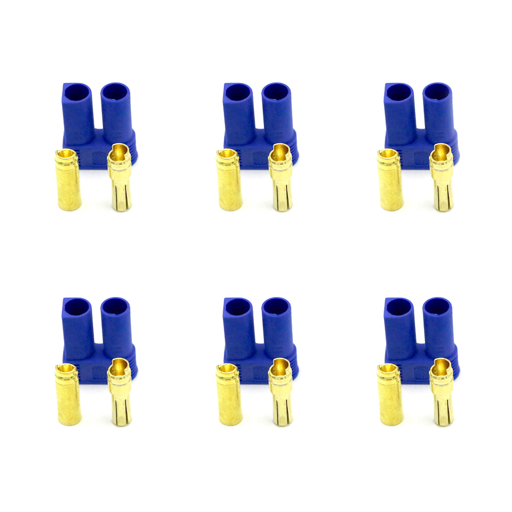 10 Pairs Multi-Copter EC5 Device Connector Plug For RC Plane Helicopter Car S2I4