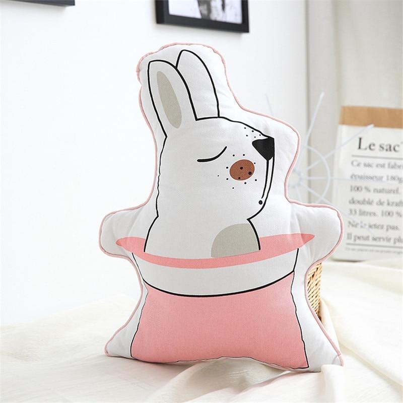 Cute rabbit panda Animal Printed toy Cushion Pillow Decorative Pillows Use For Home Sofa Car Office drop shipping
