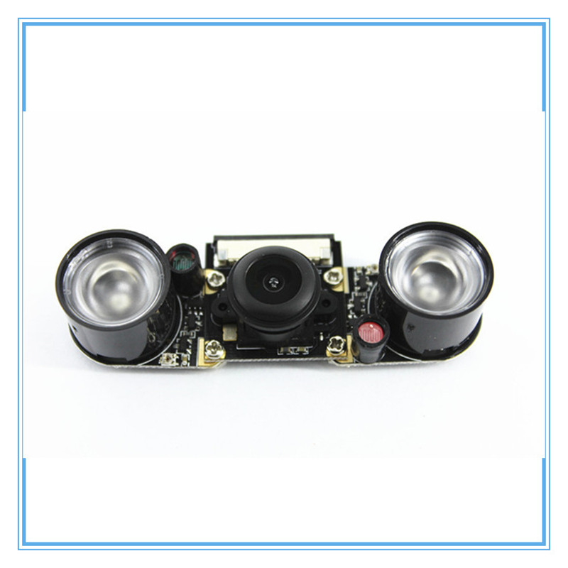 Image 5 - Raspberry Pi 3 Model B 5MP Night Vision Camera OV5647 Fisheye Webcam 1080P Wide angle Camera Module for Raspberry Pi 3B+/3B/2B-in Demo Board Accessories from Computer & Office