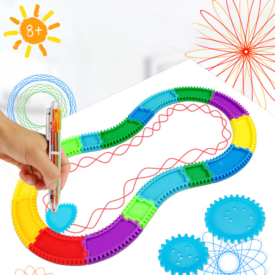 Drawing Creative Arts And Crafts Children's Toys DIY Graphic Design Track Kits Kids Craft Toys For Boy Girls Best Gift Child Toy