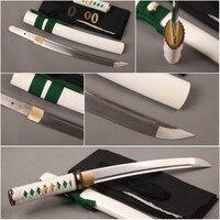 Ostentatious Metal Home Decoration Fully Handmade Folded Steel Japanese Tanto Full Tang Samurai Sword Sharp Knife