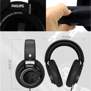 Image 3 - Philips SHP9500 Professional Earphone with 3m Long Wired Headphones for xiaomi SamSung S9 S10 MP3 Support official verification
