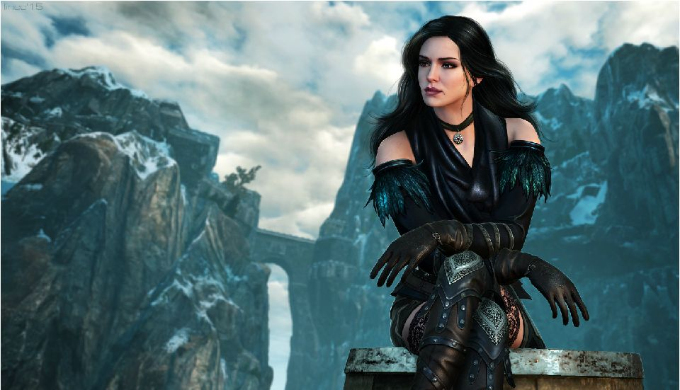 witcher 3 yennefer hot