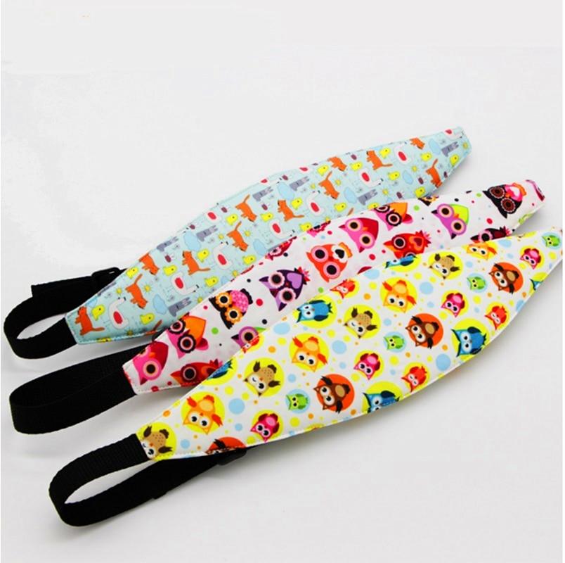 Car Safety Seat Sleep Positioner Stroller Baby Head Support Fastening Belt Adjustable Pram Strollers Accessories