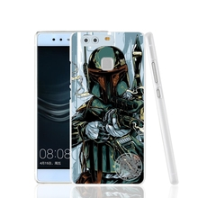 Star Wars R2D2 Darth Vader Stormtrooper Cover Phone Case for Huawei Ascend P7 P8 P9 lite plus G8 G7 Honor 5C 2017