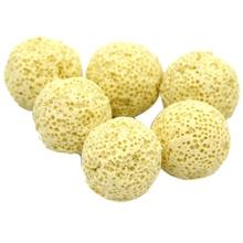 10PCS Yellow Ceramic Ball Bio Porous Filter Media Net Bag Biological aquarium Filter Nitrifying Bacteria Material Cleaning Tools