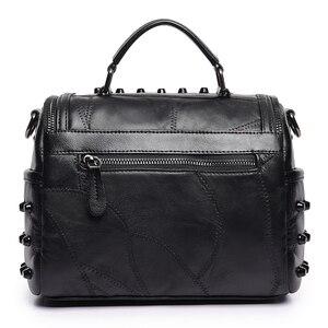 Image 3 - 2019 luxus Frauen Aus Echtem Leder Tasche Schaffell Messenger Taschen Handtaschen Berühmte Marken Designer Weiblichen Handtasche Schulter Tasche Sac