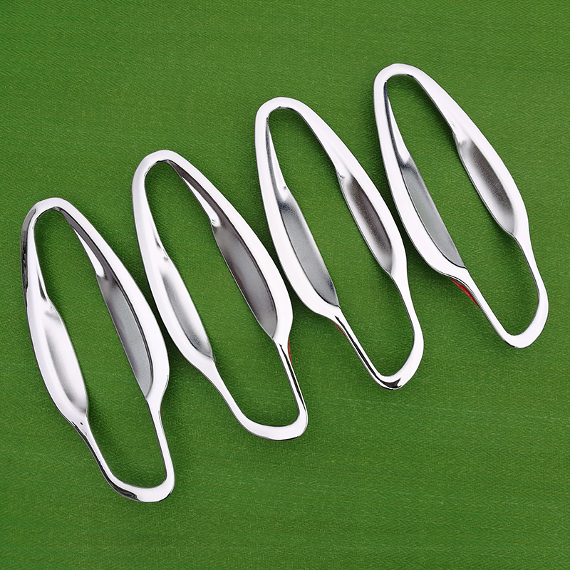 for Peugeot 5008 SUV 2017 2018 Luxurious Chrome Handle Cover Trim Set for 5008 2nd Gen MK2 Car Accessories Stickers Car Styling