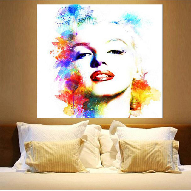 New Full Square Diamond 5D DIY Diamond Painting Marilyn Monroe Embroidery  Cross Stitch Rhinestone Mosaic Painting Decor Gift 27a05daf8bd2