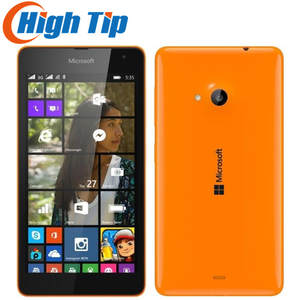 Nokia Lumia 535 Quad-Core 8gb 1gb GSM/CDMA 5MP Refurbished Cell-Phones Touch-Screen Window
