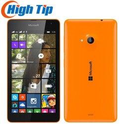 Original unlocked Nokia Lumia 535 Quad Core Dual SIM Cell Phones  5.0