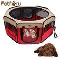 Petforu plegable para mascotas tienda Extra grande espacio impermeable ejercicio Perrera de la casa tienda cama para mascotas cachorro perros gatos