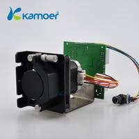 Kamoer kcsミニ蠕動ポンプステッピングモータ12ボルト/24ボルト電気水ポンプで速度制御ボー