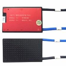 4S 12 В 10A 15A 25A 35A 45A 60A BMS батарея управление системы PCM PCB для 18650 литиевых батарея пакет с балансом