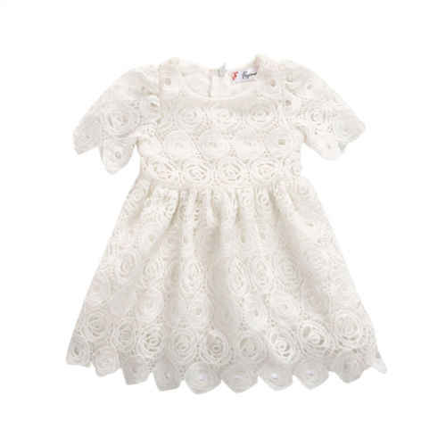 ילדי פעוט שמלת מסיבת קיץ נסיכת תינוקות בנות תלבושות בגדי תחרות שמלה הקיצית