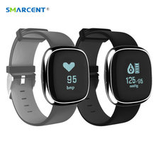 Smarcent P2 крови Давление монитор Смарт пульсометр шагомер SmartBand фитнес-трекер Браслет для iOS и Android