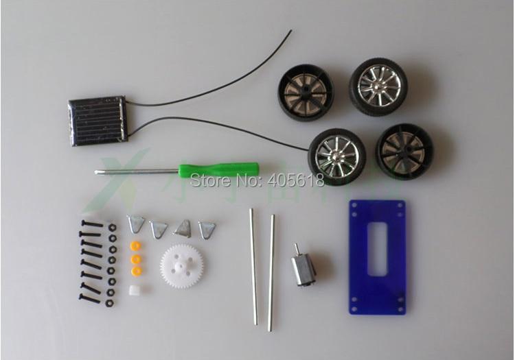 how to make a mini solar car homemade