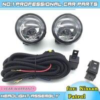 Car Styling Fog Lamp For Nissan Patrol 2010 2016 Fog Lamp LED