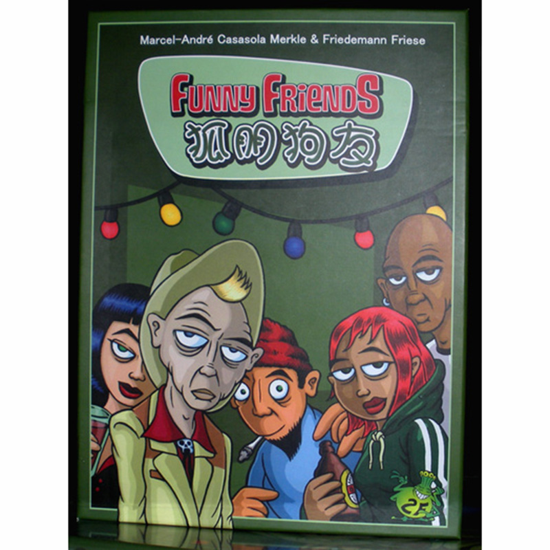 Funny Friends Board Game 2-6 Players Cards Games Easy To Play Funny Game For Party/Family With Free Shipping