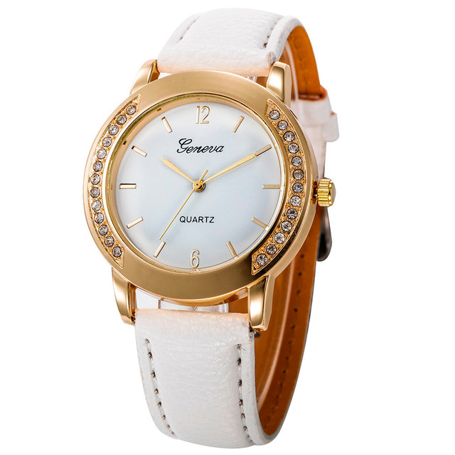 620d0d022139 New Fashion Man Women watches Crystal Stainless Steel Analog Quartz Wrist  Watch Reloj Mujer Bayan Kol Saati Wholesale horloge