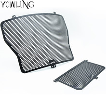 Motorcycle Radiator Guard Grille Protector Grill For BMW HP4 2012 2013 2014 + Oil Cooler Cover